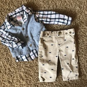 Carters Baby Boy Outfit size 3-6 months